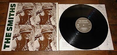 The Smiths ~ Meat Is Murder ~ Uk 1St Press Etched Vinyl Lp 1A/1B With Inner