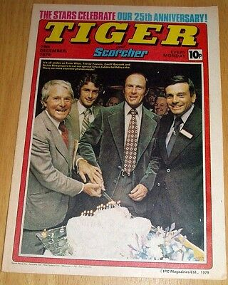 Tiger Comic 1979  25Th Anniversary Issue Centrefold Poster