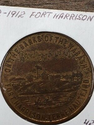 Unlisted So-Called Dollar 1812-1912 Fort Harrison Centennial