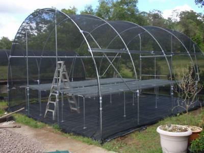 LAST CHANCE,BARGAIN 2 x SHADEHOUSES, 30% SHADECLOTH,COMPLETE WITH BENCHES