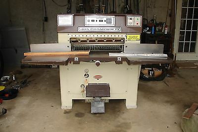 Challenge Champion 305 paper cutter, very clean condition