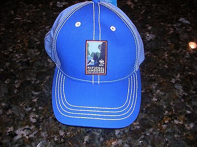 2013 National Jamboree Official Participants Cap, Blue/Lt-Blue, Mint with Tags!