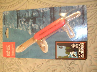 2013 National Jamboree 4-Function Utility Knife, Mint in Pkg!