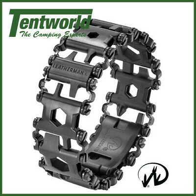 Leatherman Tread Always On Wearable Multi-Tool - Black DLC