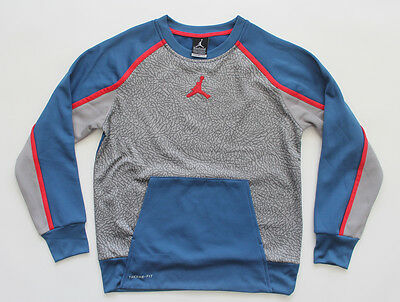 Nike Jordan Therma-Fit Kid's Pullover Sweater Size L 12-13 Years $69 - JRD153