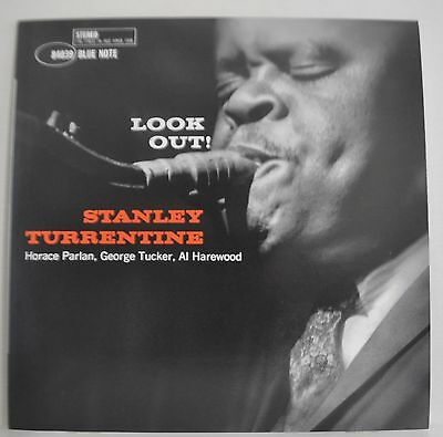 Stanley Turrentine Look Out! Japan Blue Note LP BN 4039 Insert