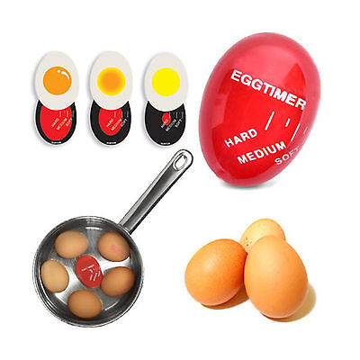 Egg Color Changing Timer Yummy Soft Hard Boiled Eggs Cooking Tool Kitchen Gadget