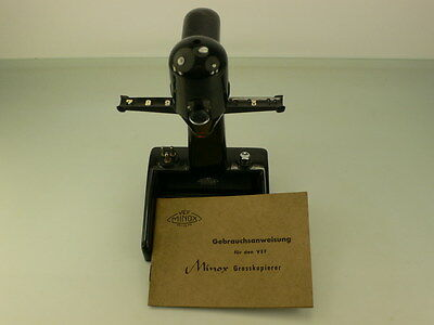 Vef Riga Minox Enlarger Manual In German, Rare