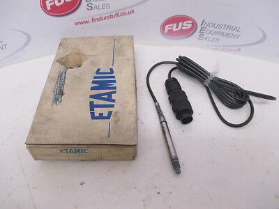Etamic ZCB-103 Probe LVDT Linear Voltage Displacement Transducer - Unused In Box