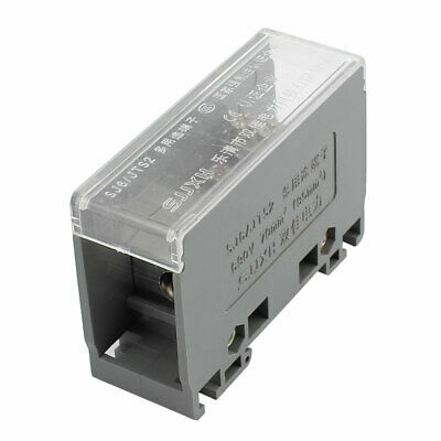 1 Input 6 Output 2 Positions 3 Rows 690V Wire Terminal Block Gray