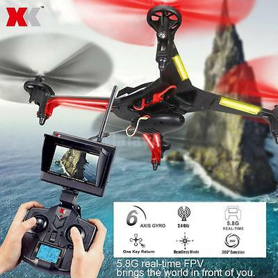 XK Alien X250A 2.4G 4CH 6-Axis Gyro 2MP Camera 5.8G FPV RC Quadcopter AU W3D1