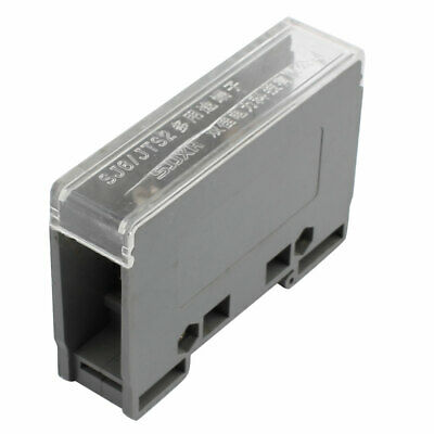 1 Input 4 Output 2 Positions Dual Rows 690V Wire Terminal Block Gray