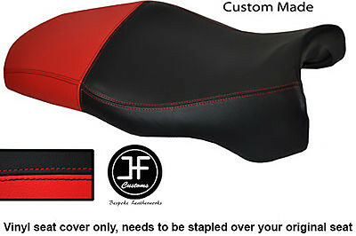 Red & Black Vinyl Custom Fits Ducati Supersport 750 900 Ss 1999+ Seat Cover Only
