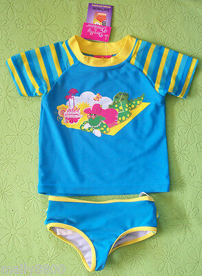 Girls - Wiggles - Dorothy - Rash Top Bathers Swimming Set  - Size 1, 2