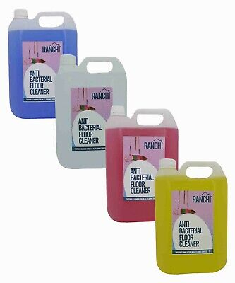 Floor Cleaner Anti-Bacterial 4 x 5L PREFILLED Superior Cleaning TRADE Chem