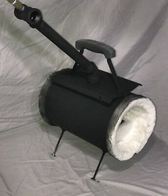 Large Custom Canister Style Blacksmith Propane Gas Forge By CGR Customs