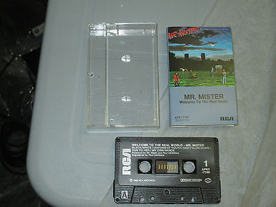 Mr Mister - Welcome to the Real World (Cassette, Tape) WORKING Great