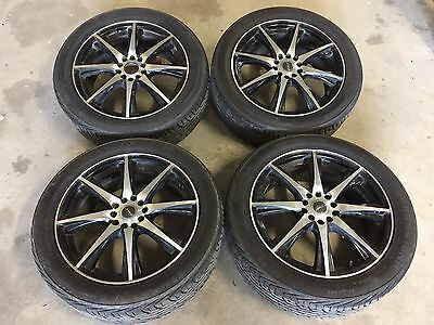 "17"" Subaru/VW alloy wheels and tyres * 4"
