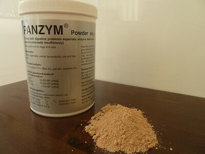 PANZYM Powder 650 g Highly concentrated pancreatic enzymes for Dogs and Cats