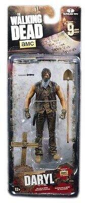 McFarlane The Walking Dead TV Series 9 Action Figure Grave digger Daryl Dirt