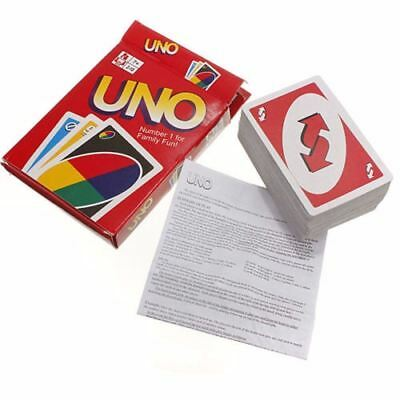 UK Standard Fun UNO Game Ultra 108 Playing Cards Family Children Friends Party