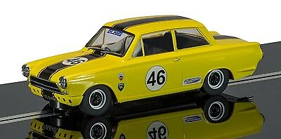 C3502 Scalextric Ford Cortina MkI - Dan Cox 2012 HSCC ByBox - HTCC Champion