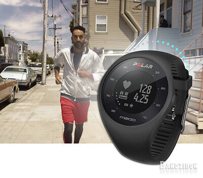 Polar M200 Black GPS Activity Tracker Running Sport Watch Heart Rate Monitor HRM