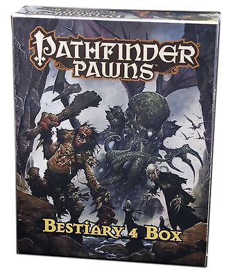 Paizo, Pathfinder Roleplaying Game, Pawns Bestiary 4 Box, New