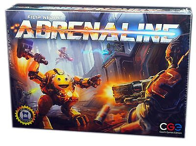 Czech Games Edition, Adrenaline Board Game, New and Sealed