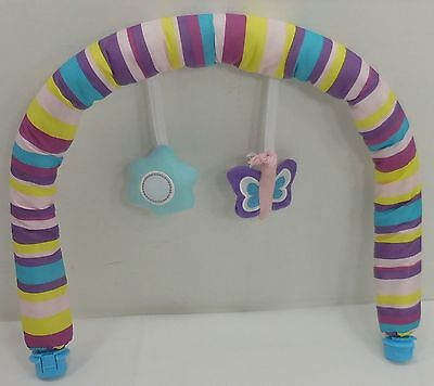 Evenflo Exersaucer Replacement Sweet Tea Party Padded Toy Bar Arch Toys 5185