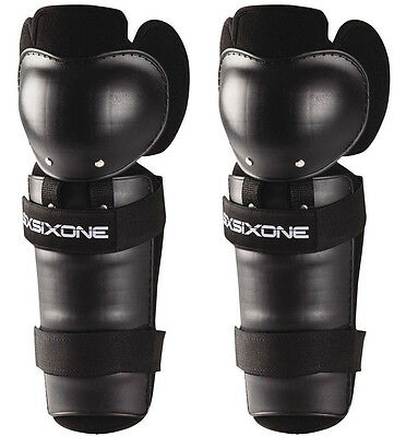 661 SIXSIXONE YOUTH COMP MOTOCROSS MX KNEE SHIN GUARD pads protectors KIDS