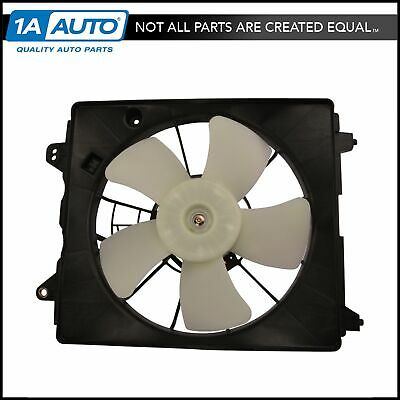 AC A//C Air Conditioning Condenser Cooling Fan Assembly NEW Fits 03-08 Tiburon