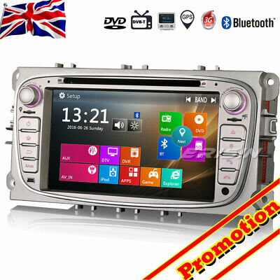 Car Stereo GPS DAB+DVR DTV-IN CD USB BT SD For FORD FOCUS C/S-MAX MONDEO GALAXY