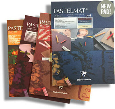 Clairefontaine Pastelmat Pastel Card Pad - All Sizes & Colours