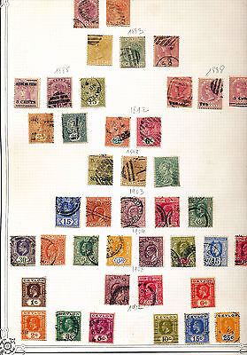 CEYLON QV/QE Used Collection(Approx 170 Items) OV1104