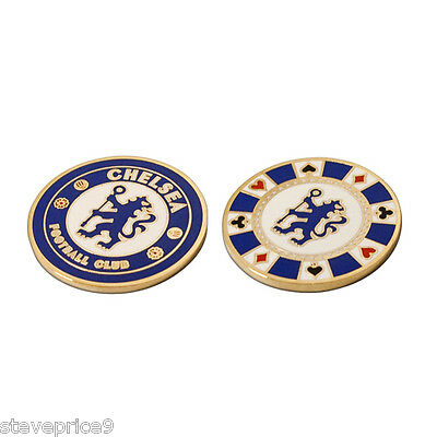 Chelsea Fc Casino Golf Ball Marker