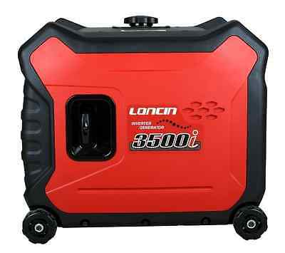 LONCIN LC3500i PORTABLE INVERTER GENERATOR 3.3KW PETROL 240V EU30is