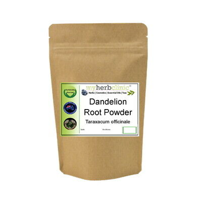 Dandelion Root Powder Herb Tea Naturopathically Prepared Fresh Fast Free Post