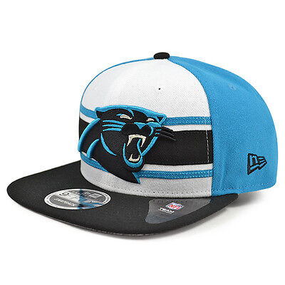 962ab529 CAROLINA PANTHERS NEW Era THROWBACK STRIPE 2 Snapback 9Fifty NFL Hat