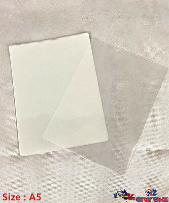 A5 Laminates Laminating Laminated Film Sheet Film Bulk Lot YW