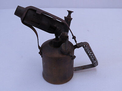 A2 - Companion Brass Blow torch made in Australia WITH PATINA RUST