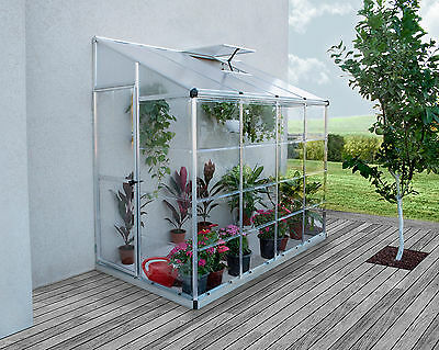 8′ x 4′ Lean-to Greenhouse (Walk in) RRP $1299 Sale - $999 Inc Free Shipping Aus
