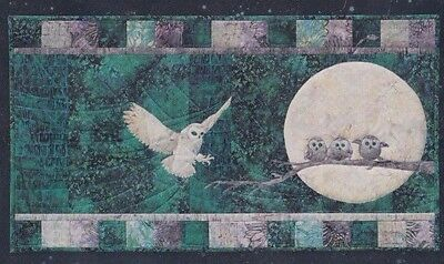 Hunter's Moon - gorgeous applique block PATTERN - McKenna Ryan
