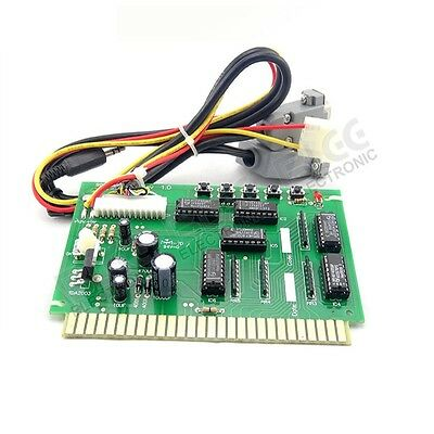 Jamma Interface to USB PC Joystick w/ audio amplifier PCB For MAME or Hyperspin