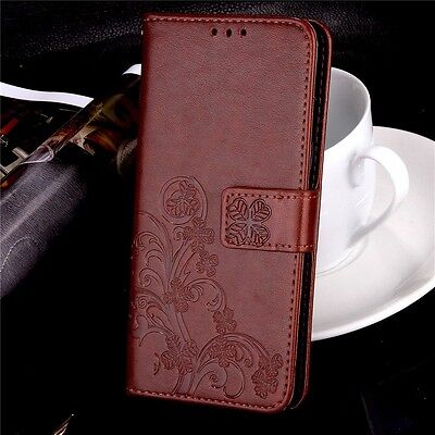 Luxury Patterned PU Leather Magnetic Flip Card Wallet Cover Skin Case  For LG