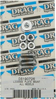 Individual Chrome Socket-Head Bolt Set Drag Specialties MK190 DS-190726 Bolt