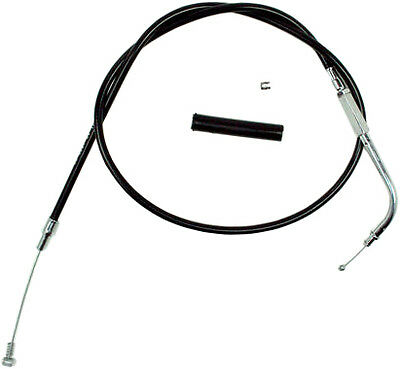 Motion Pro Harley Black Vinyl Idle Cable 06-0297