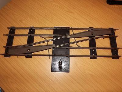 R243: Hornby O Gauge Double Crossover - 2 Rail