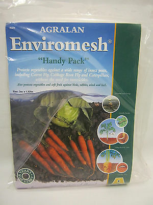 New Agralan Enviromesh Handy Pack 3m x 1.83m  Protects Vegetables HA78