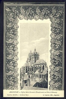 Carte Postale Ancienne FRANCE Normandie ARGENTAN DENTELLE LACE SPITZE KLÖPPELN